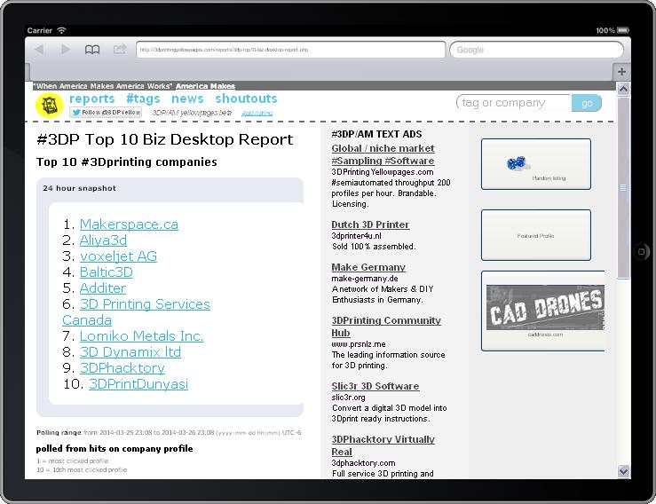 Twitter / 3DPYellow: #3DP #Top10 #Biz #Desktop ...