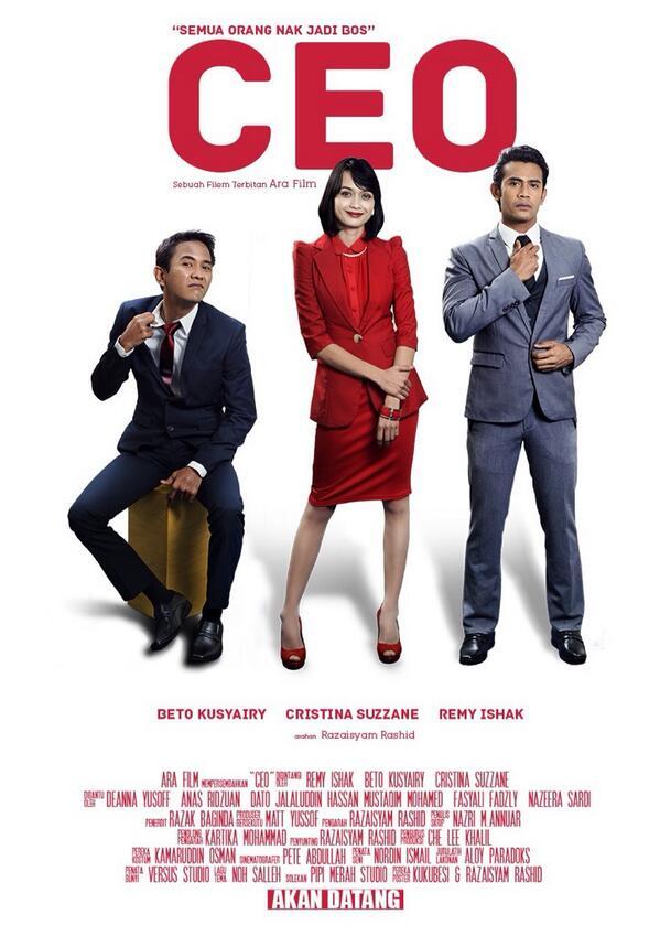 Teaser poster #filemCEO yg akan keluar wayang pada 12 Jun nanti. Final poster masih lagi di fine tune @KuKuBesi http://t.co/JOdewdjklJ
