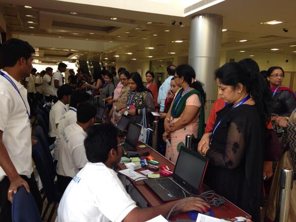 Delegates arriving for #RCOG2014 in Hyderabad India http://t.co/zVeqfmuCzu