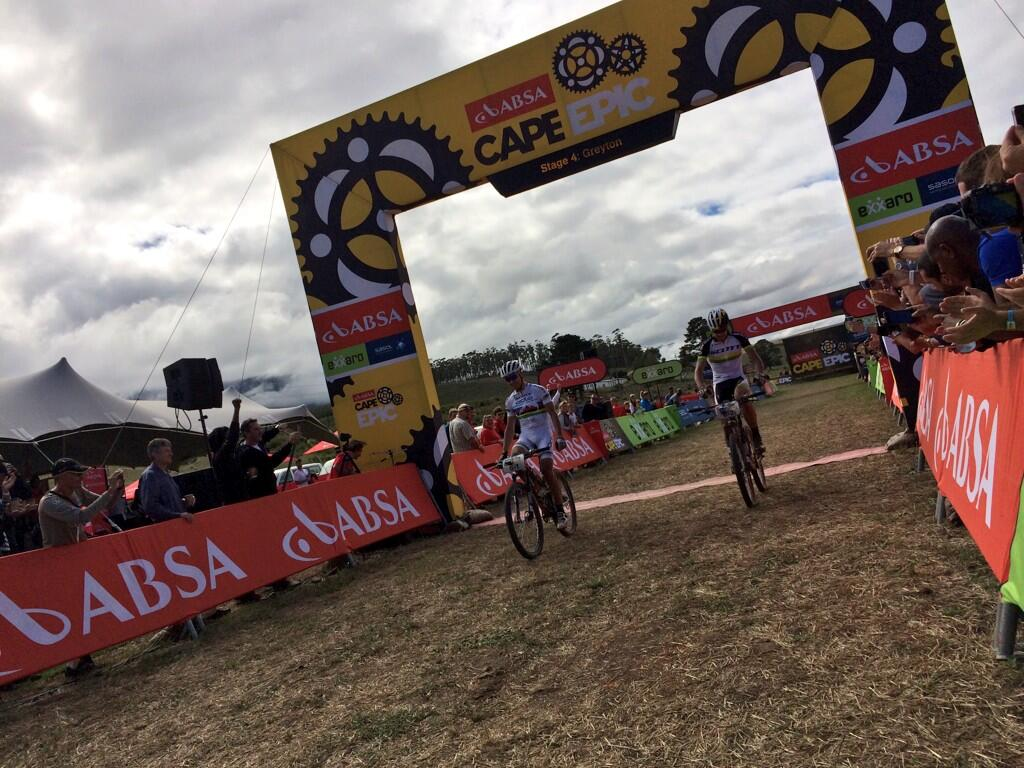 Schurter&Buys wins 4. stage