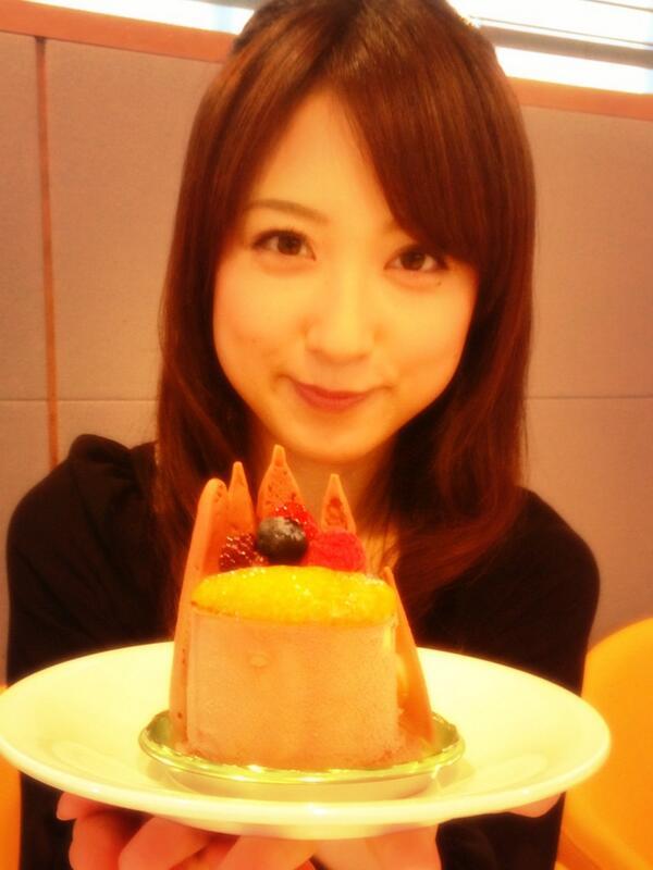 ケーキと川田裕美