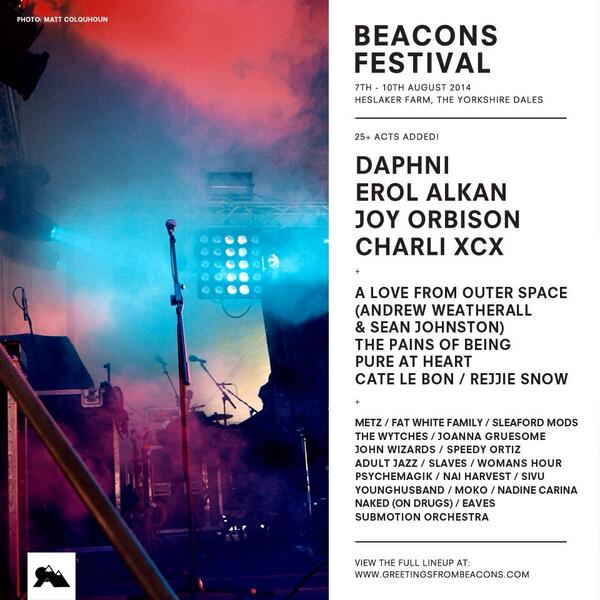 More acts confirmed: Daphni / Erol Alkan/ Joy Orbison / Andrew Weatherall & Sean Johnston / Submotion Orchestra http://t.co/h0hA1WkaQe