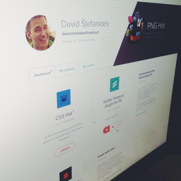 We are working on a redesign of Source Profile, that's where you download our products. Here is a sneak peek! http://t.co/ZbVksVNo23