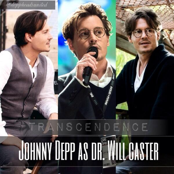 Johnny Depp as Dr. Will Caster in Transcendence http://t.co/bz7MYswLER