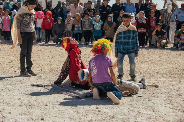 King Lear in Zaatari