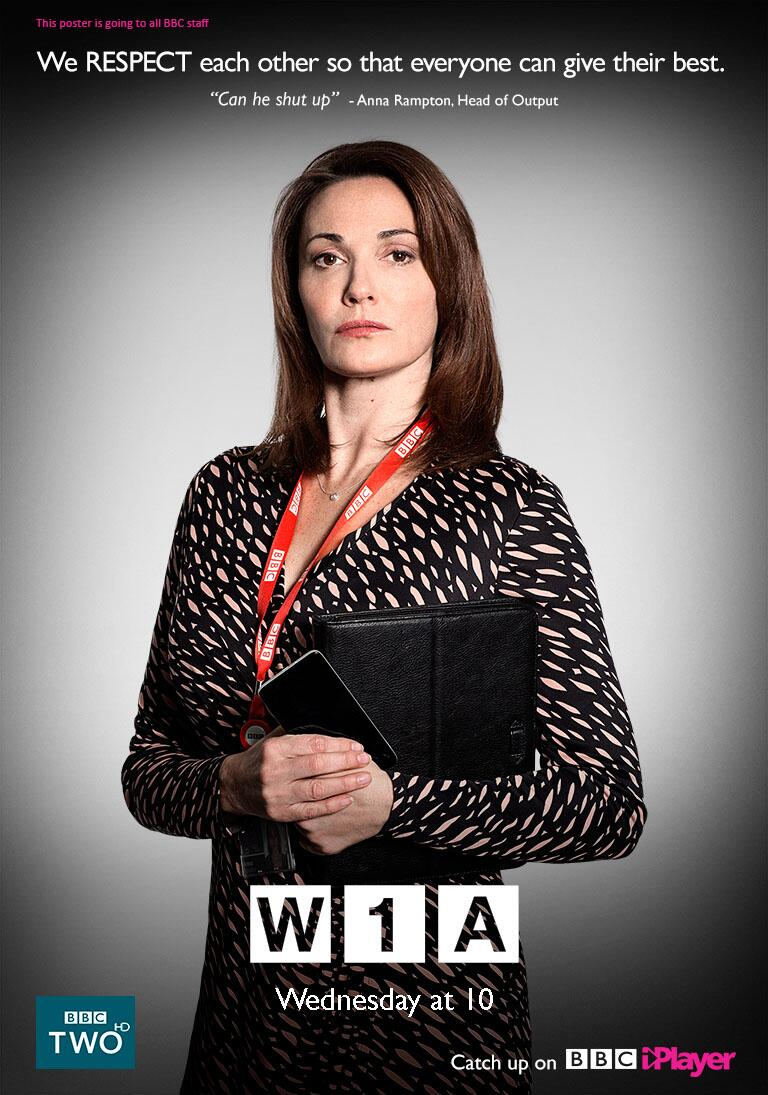 RT @BBCiPlayer: Don't miss W1A, our @bbccomedy all about us! Starring @clarebalding, @carolvorders and @whjm http://t.co/Yk1f4IDasc http://…