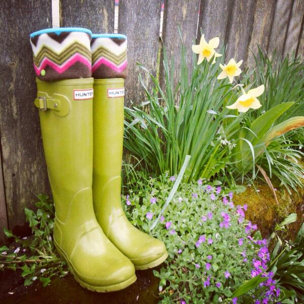 Just listed NEW spring/summer 2014 styles of SLUGS fleece rain boot in my #etsy shop!! #hunterboots http://t.co/vV0DChGgUc