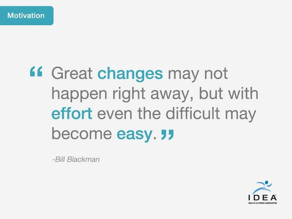 "Retweet if u agree: ""Great changes may not happen right away, but with effort even the difficult may become easy."" http://t.co/l90qg8ujwk"