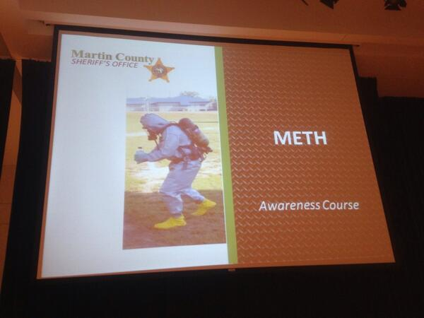 I'll be tweeting live 6-8 pm during @MartinFLSheriff's town hall meeting about meth labs at Blake Library in Stuart. http://t.co/t6VXHVmJsB