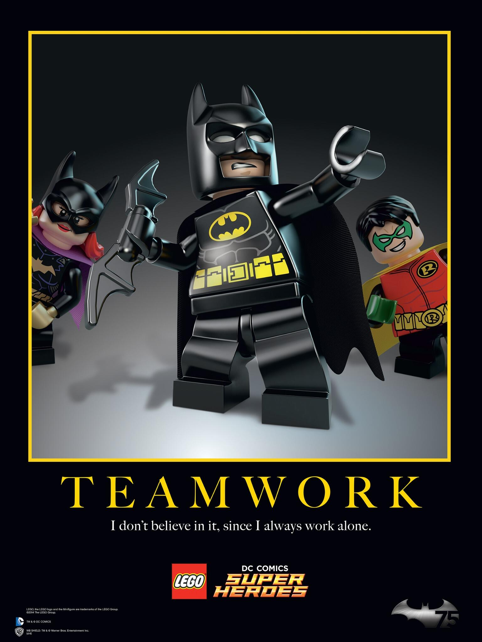 Lego On Twitter Quot Teamwork Quot I Don T Believe In It Since