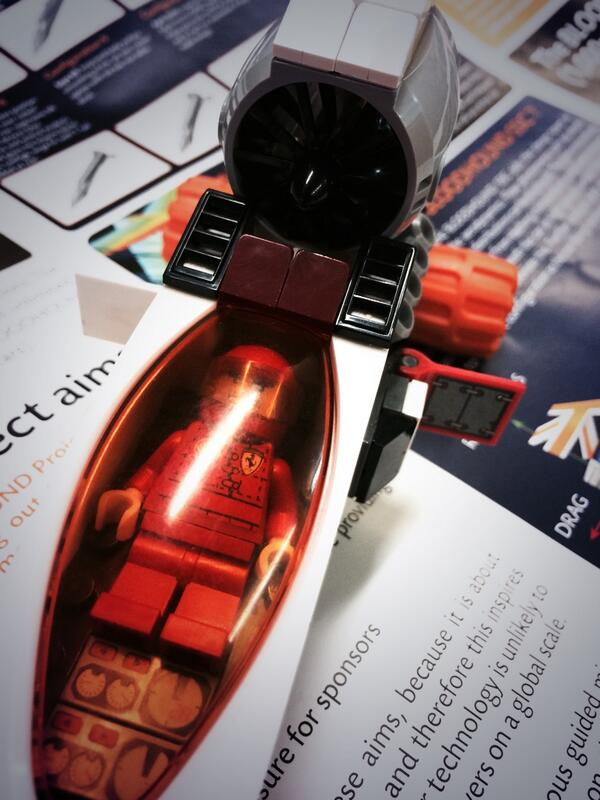 Close-up of Wing Commander Andy, with air brakes on, by a Year 7 pupil @BLOODHOUND_SSC @BLOODHOUND_Ed @Oli_Morgan http://t.co/97csbnIrfn