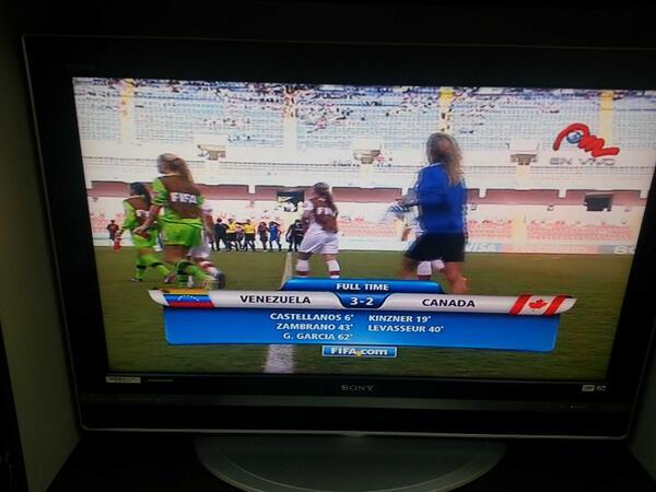 Que grandes!!! Venezuela 3-2 Canada. Mundial FIFA Sub17. Ahora a semifinales frente Japón o México @MeridianoTV http://t.co/0dkJJXL3O5