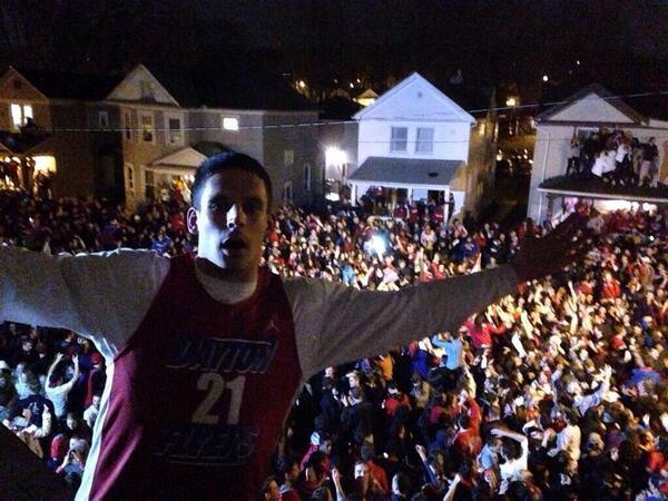 Project X type shit in progress RT @Trevthetorpedo: University of Dayton right now: http://t.co/5XEZ2IJIck