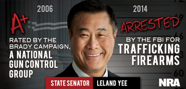 Leland Yee lived the Grand Theft Auto character's life