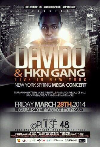Can't wait tomorrow #Davido #Brooklyn #NYC http://t.co/mLhkDVFmZC