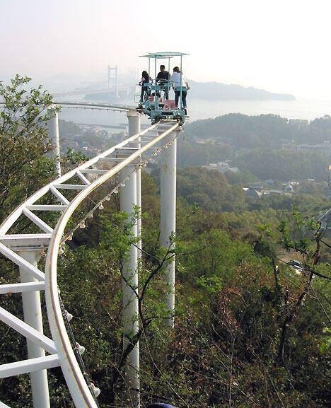 岡山が誇るテーマパークの絶叫マシンがこちら(震え声) pic.twitter.com/494EAkU9tA