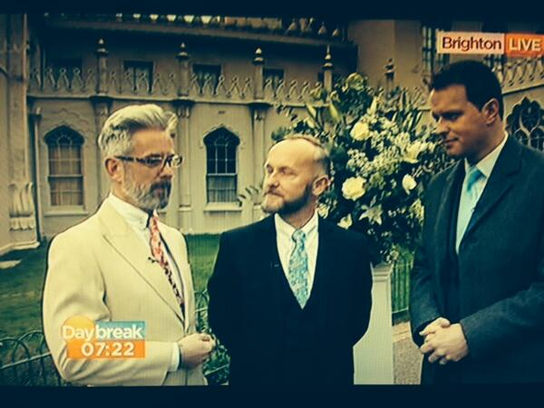 We hope you didn't miss Andrew Wale and Neil Allard on @Daybreak this morning! The 1st UK Gay couple to be married. http://t.co/kyjxHKAnid