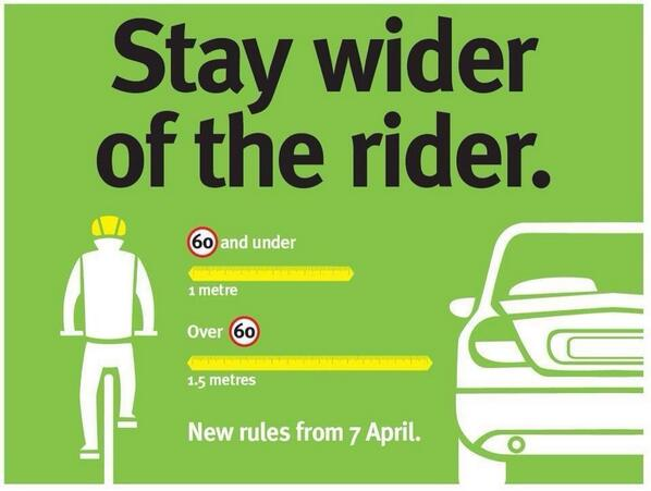 Please do this folks...it makes cycling so much safer and enjoyable. http://t.co/V0PpdHk8I6