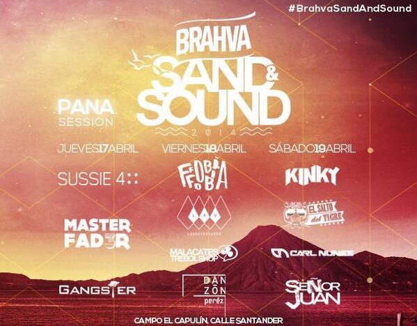 Concierto en Pana y el sábado @KinkyTheBand @Claudiarpa @fobiamx http://t.co/wnKL0EKRDC