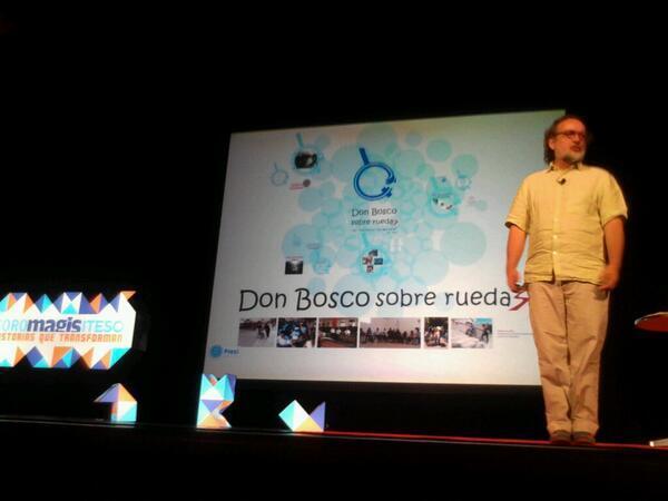 Don Bosco Sobre Ruedas ofrece apoyo a las personas que tienen alguna discapacidad motora. #Foromagis http://t.co/4kzVXFOazL