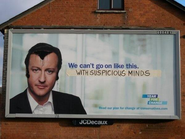 Clever ad busting of UK @Conservatives @David_Cameron : We can't go on like this http://t.co/S7I7LF6Fbs via @_theinspiration