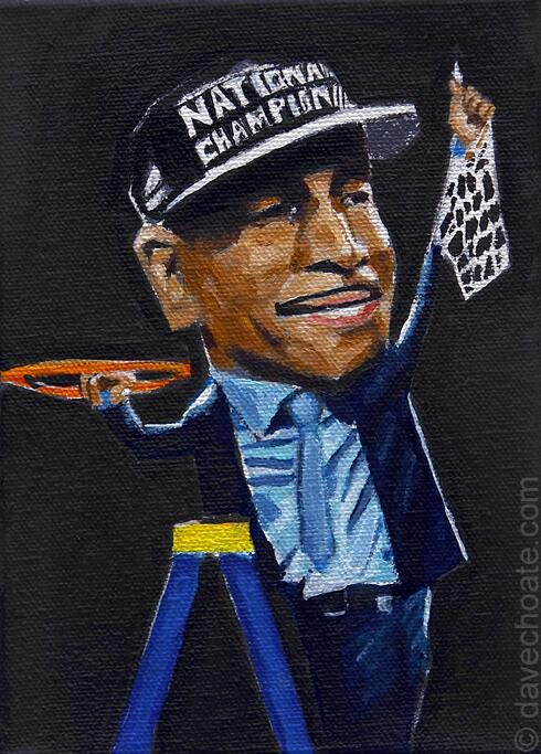 UCONN PAINTING. Kevin Ollie. http://t.co/ON1f63SWdw