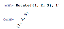 Couldn't remember Mathematica function. to rotate vector. Guessed 'Rotate'. Here's result. http://t.co/BNHIkkF2vi