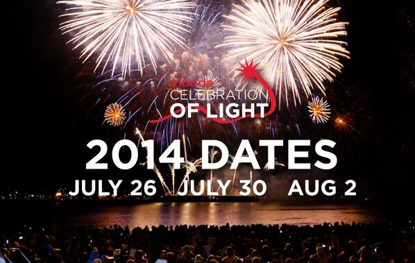 The @CelebOfLight Fireworks returns for its 24th year in #Vancouver on July 26, July 30 and Aug 2 http://t.co/7jU6OaDuuF