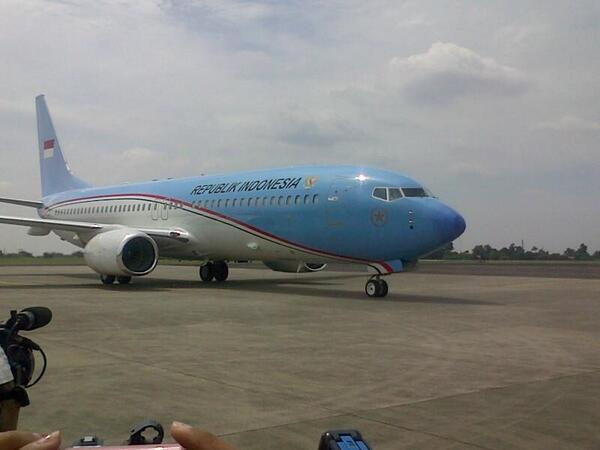 After 1,5 years delayed, the US$91 million Presidental Airplane http://t.co/FNHMifzPJ4