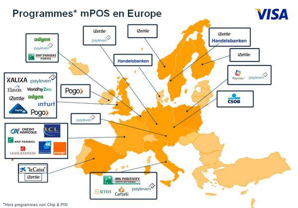 """""""Les pilotes en Europe sur le #mpos"""" #etudempos Caroline Drolet, Head of Market Acceptance #visa http://t.co/RvIGDRmWpb"""
