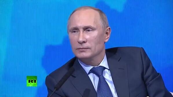 Путин Первый канал