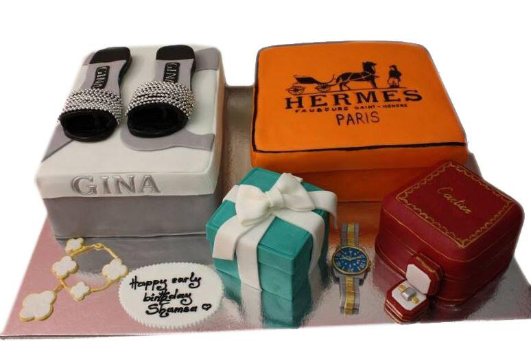 Sandra Bulli On Twitter Stylish Birthday Cake Cartier Herms