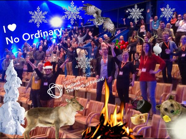 #SoMeT14EU has been Lapified!  http://t.co/8R2rPW0CnP Smart, fun app from @OnlyInLapland!