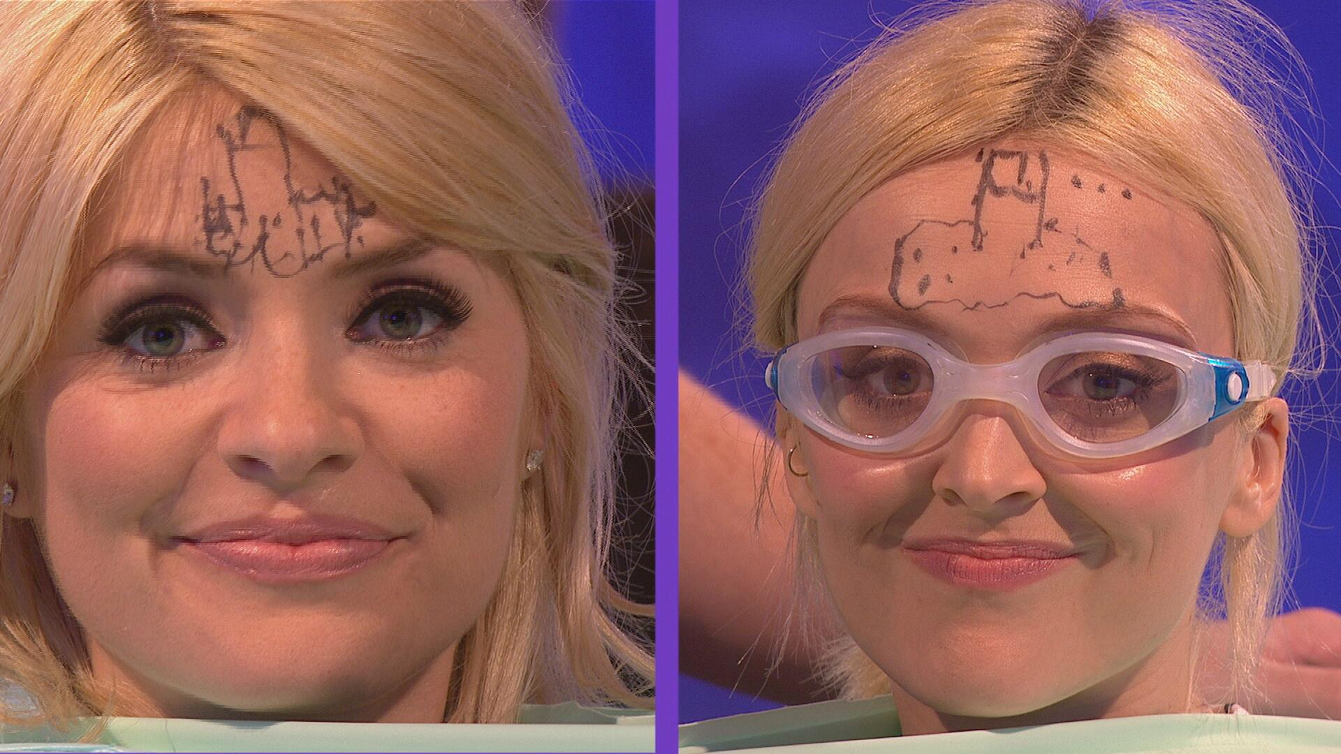 RT @CelebJuice: Here's a little taster of what @HollyWills and @Fearnecotton get up to tonight! #YouveGotSomethingOnYourFace http://t.co/FI…