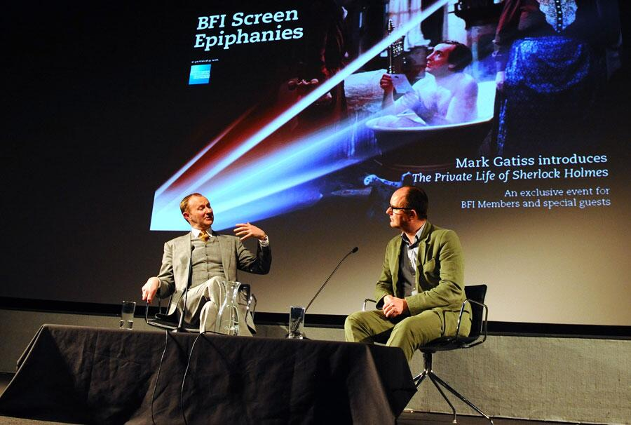 Twitter / BFI: The wonderful @Markgatiss ...