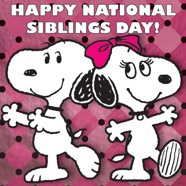 Peanuts On Twitter Today Is National Siblings Day Hi Belleprgirl Nationalsiblingsday Http T Co Bimn6dgbxe