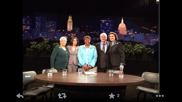 Tonight @NewsHour MT @ATLShirley: Great day RT@TheLBJSchool: @ATLShirley on the set for the #CivilRightsSummit http://t.co/semdnPyCfh