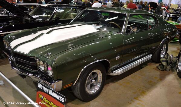 #MuscleCars Spotlight: 1970 #Chevrolet Chevelle Baldwin Motion Phase III at the 2013 #MCACN #Chevy http://t.co/QNFz0WhhB7