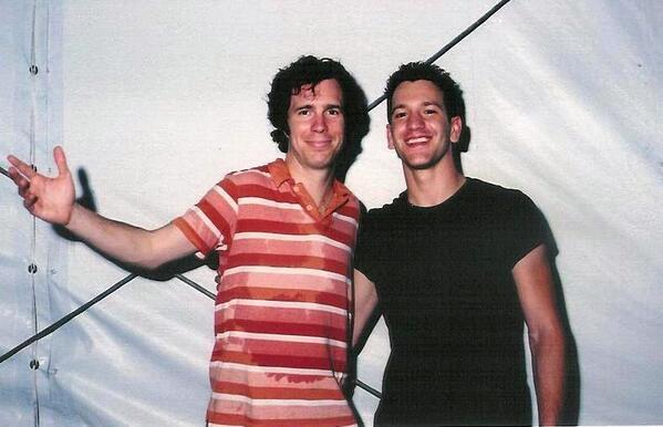 #TBThursday  Ben Folds @BenFolds & Dante Mazzetti @dantemazzetti  Some Past Year, Having Fun... pic.twitter.com/e3gfB8gpDI