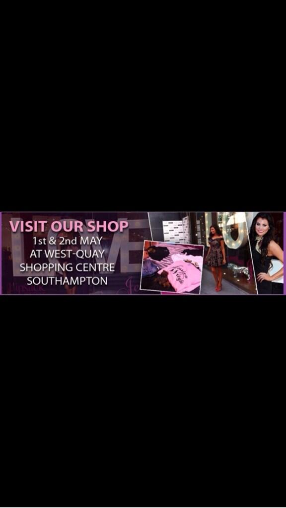 RT @WithLove_Jess: Pop Up Shop 1st and 2nd May.... Who is coming to meet @MissJessWright_ @RickyRayment @nannypat_carol http://t.co/KiDxFK9…