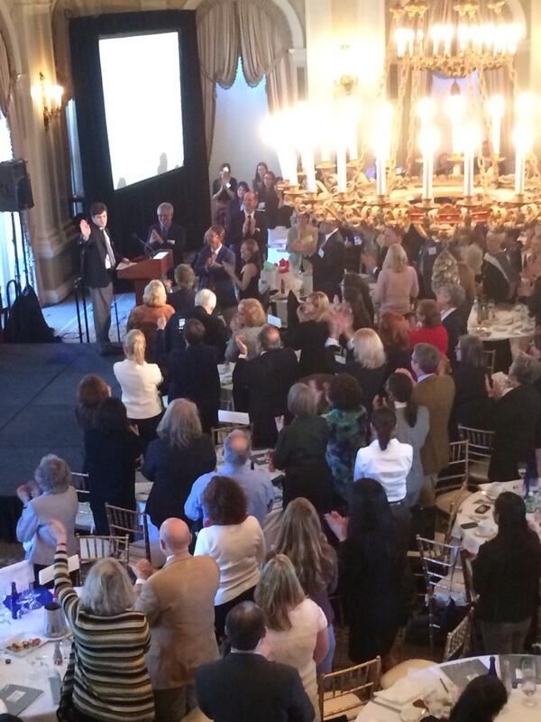 Paul Morris, adult with autism, gets a standing ovation after sharing about his childhood #ASFautismTED http://t.co/ZwLj8SLT5s