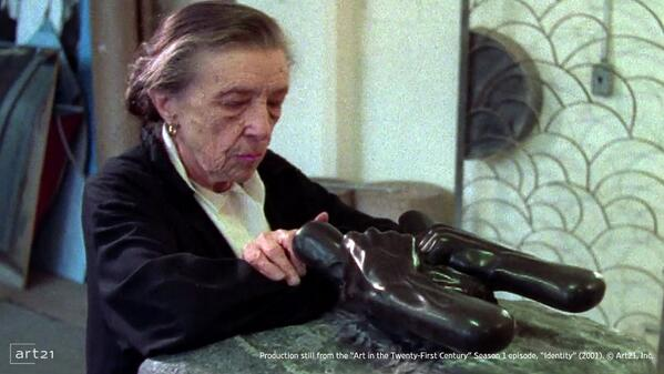 """""""A work of art doesn't have to be explained. If this doesn't touch you, I have failed."""" —Louise Bourgeois http://t.co/8rrjmt64PW"""