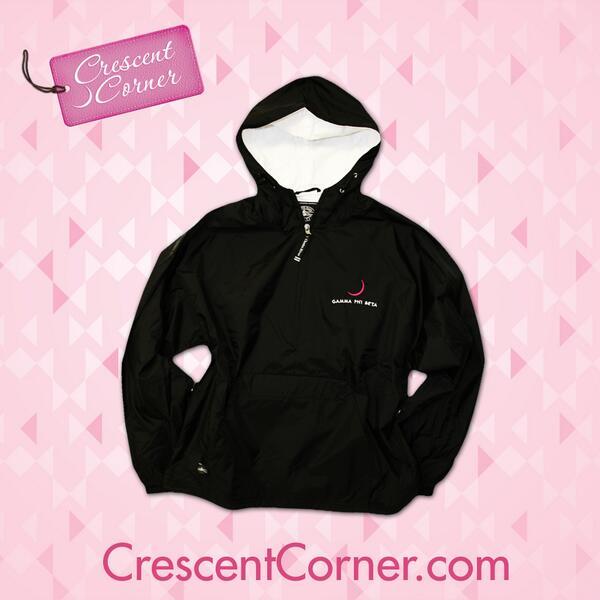 April showers bring… a #TrendyThursday winner! RT to win this ΓΦΒ rain jacket & all Crescent Corner items in April! http://t.co/IvbDDMJ4Ml