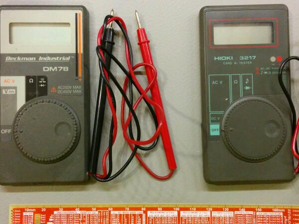 Scored a pair of vintage multimeter twins! - Page 1