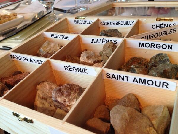 The rocks of Beaujolais #bojofoodfeast #diversity http://t.co/YAbIh2mA8H