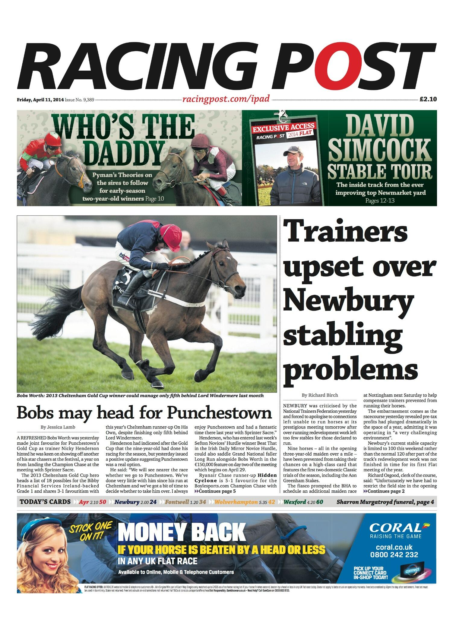Racing Post Stable Tours