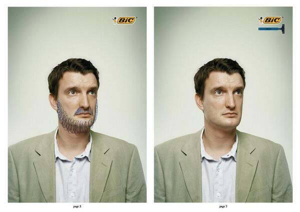 We so so love this advert by Bic. Brilliant. (via @GabrielleNYC) http://t.co/6NGCokVsk6