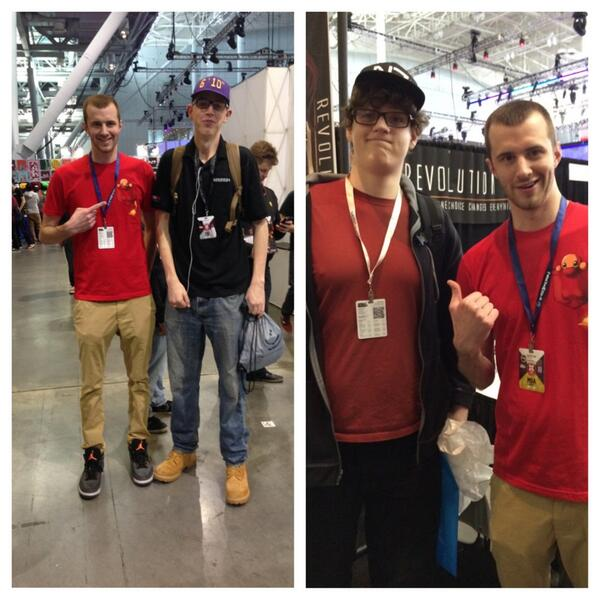 Joel On Twitter Met 610 And 611 Fans At Pax Tall People Unite