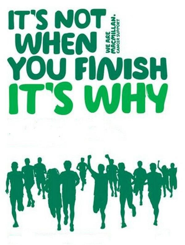 Good Luck to everyone running this years #vlm2014  especially the 973 running for @TeamMacmillan . Remember...... http://t.co/HUo6Yrklcj