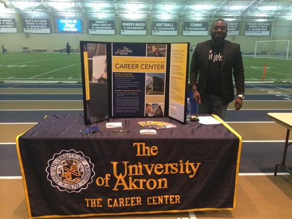TGIF! We are at the Academic and Student Services Info Fair and the Black Male Summit!! #GoZips http://t.co/eWdcTuGlGO